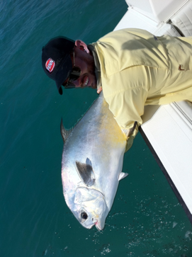 Nice permit caught near the flats