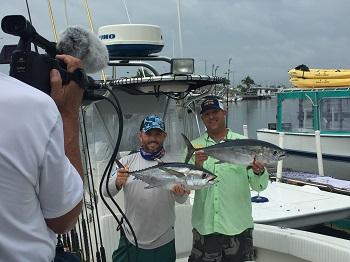 Deep sea fsihing charters south of the Florida Keys.
